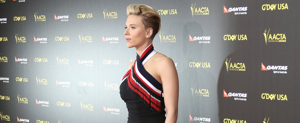 Scarlett Johansson Just Made a Fierce Red Carpet Comeback