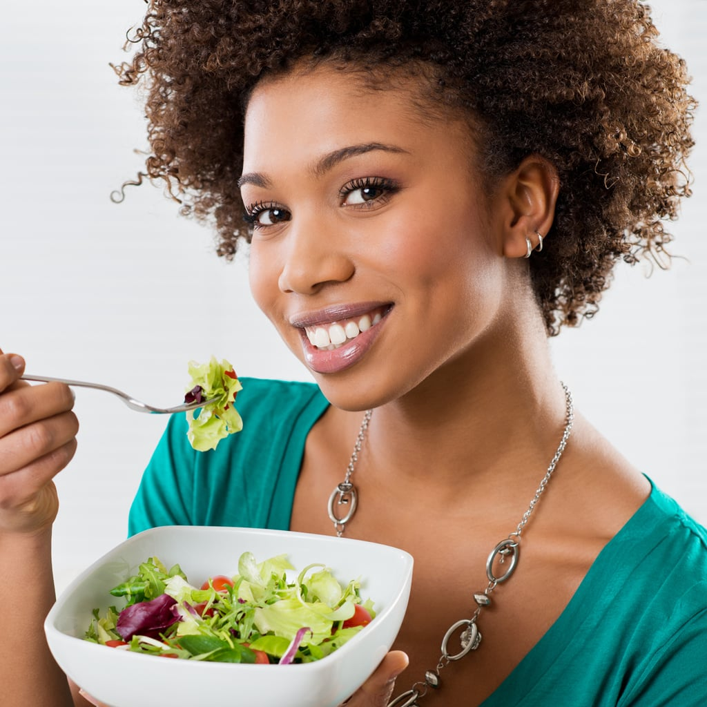 Eating a Salad Before the Entrée