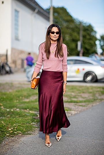 How to Wear Pink and Burgundy Like a Fashion Girl