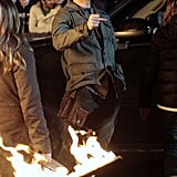 Joshua Jackson Gears Up For Fringe's Return With a Dark Day on Set