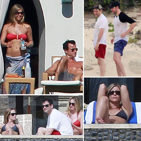 Jennifer Aniston and Emily Blunt Bikini Pictures