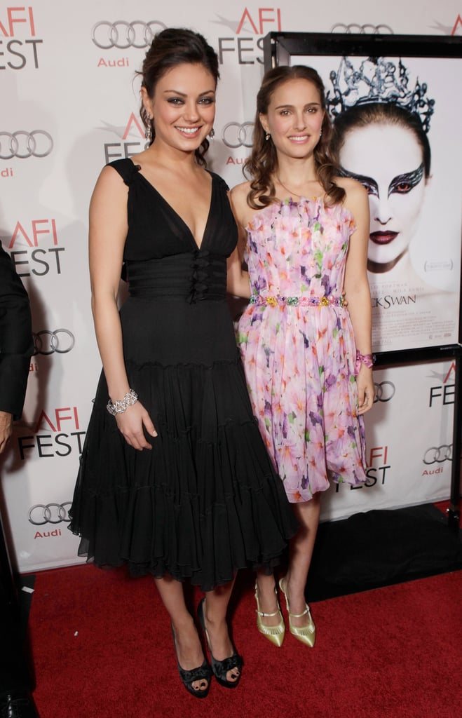Natalie Portman and Mila Kunis at Black Swan LA Premiere