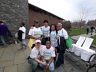 NYCares Hands On New York @ Marine Park
