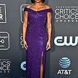 Regina King at the 2019 Critics' Choice Awards