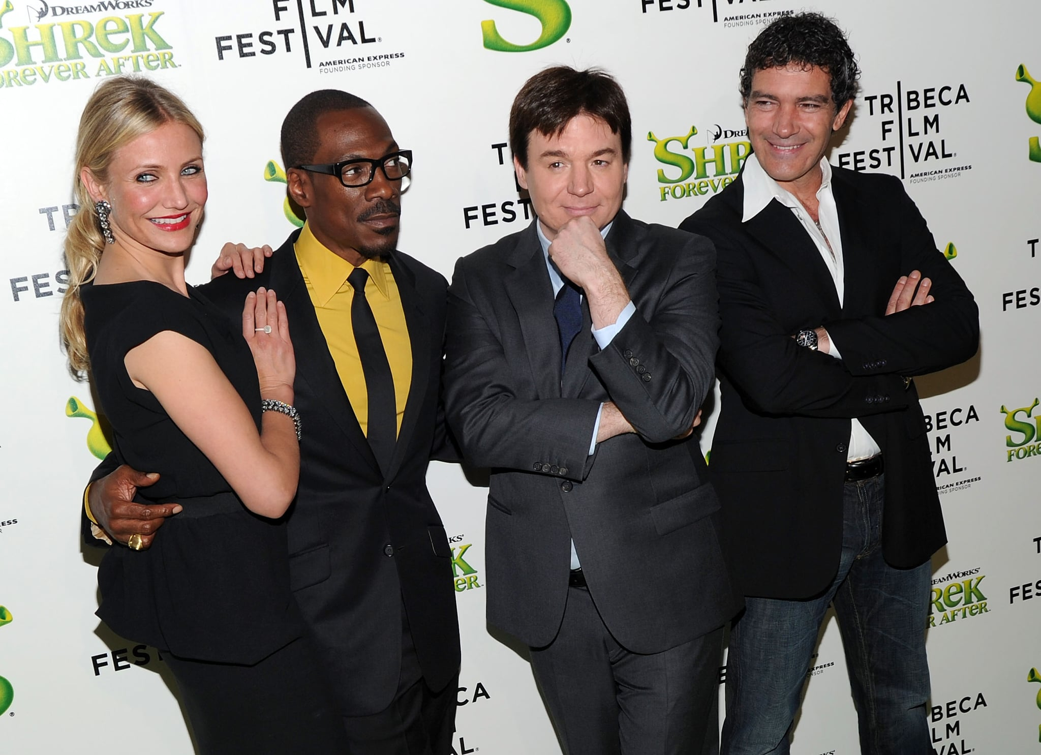 Pictures Of Cameron Diaz Mike Myers Eddie Murphy At The