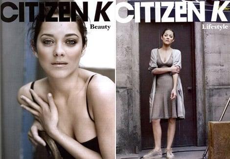 Marion Cotillard does Citizen K Russia-Spring 2010