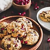 Orange Pomegranate Oatmeal Chocolate Chip Cookies
