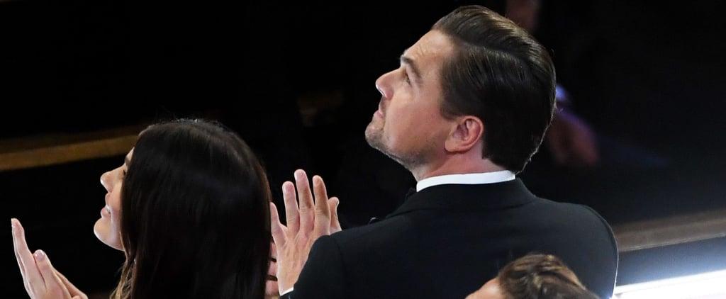 Leonardo DiCaprio and Camila Morrone the Oscars 2020