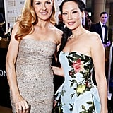 Connie Britton and Lucy Liu
