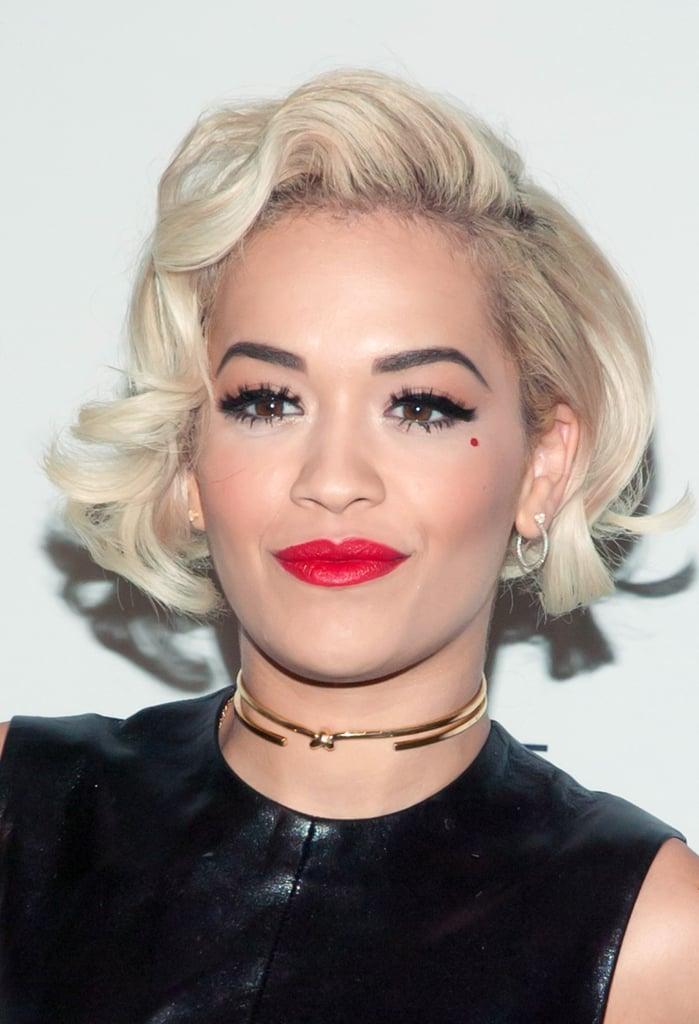 Rita Ora at the Calvin Klein Reveal Launch Party