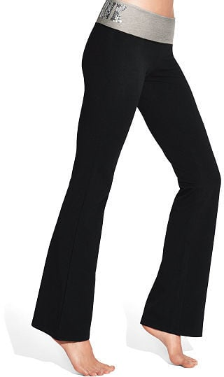 Image result for victoria's secret flared leggings