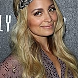 Nicole Richie kept her long waves in place with a beaded headband at Fashion's Night Out in 2011. The key to making this works is to position the band on the forehead so there's no gap between it and the hairline.