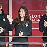 The British Royals at London Marathon April 2017