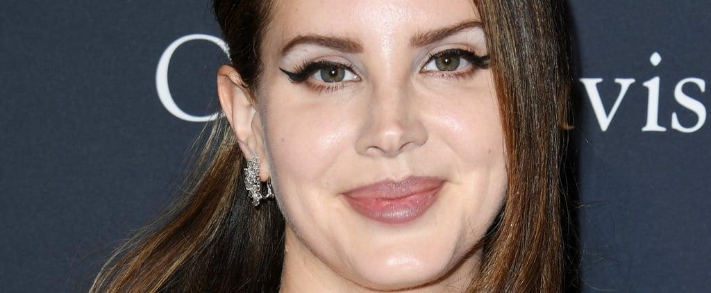 Details on Lana Del Rey's Champagne-Blond Color Treatment