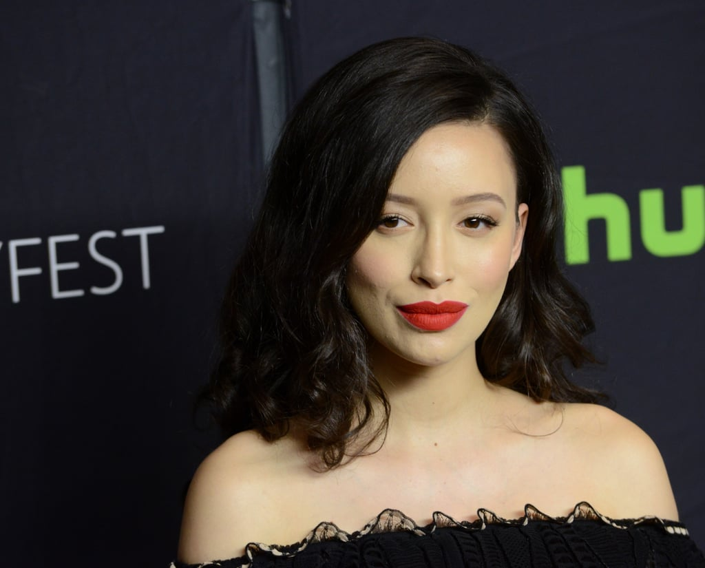 Christian Serratos's Loose Waves in 2017