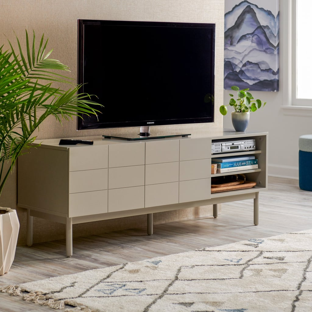 MoDRN Scandinavian Link Two-Door Media Cabinet