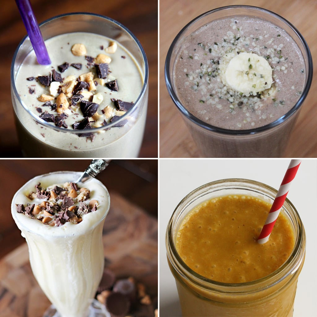 Chocolate Peanut Butter Smoothie Recipes