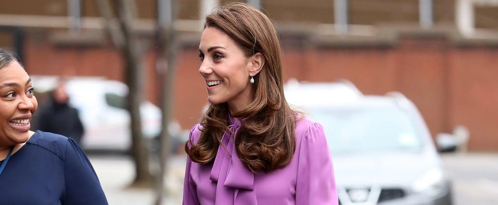 Kate Middleton Wearing Trousers