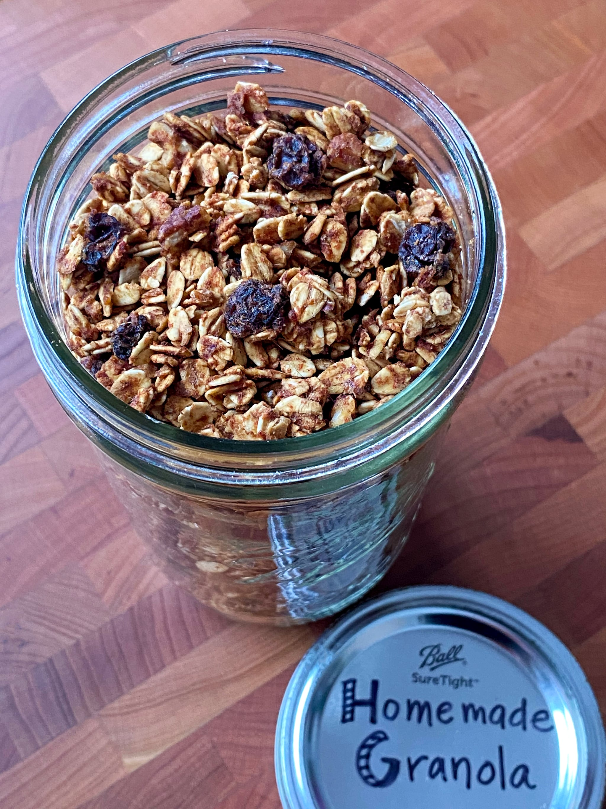 No-Refined-Sugar Low-Fat Granola Recipe | POPSUGAR Fitness 4