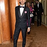 Imran Amed at the Met Gala Afterparty