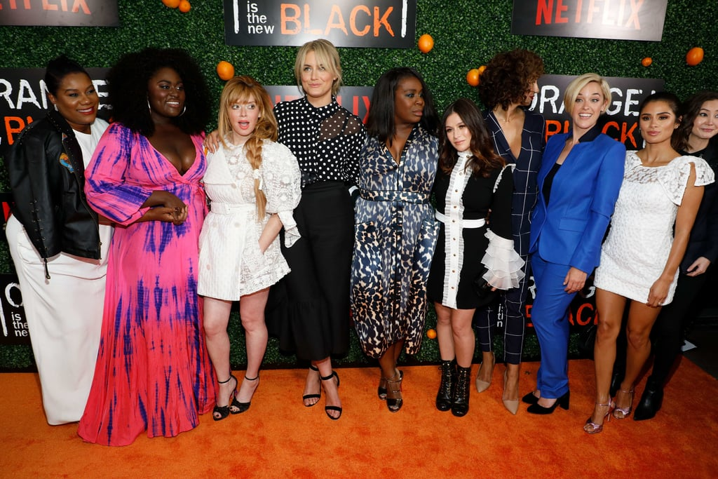 Orange is the new black costars dating
