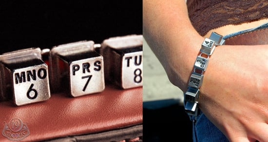 Dial in Style With a Payphone Key Bracelet