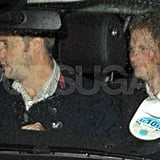 Prince Harry partied with friends in London.