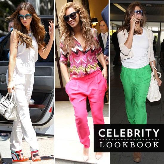 Celebrities Wearing Summer Pants