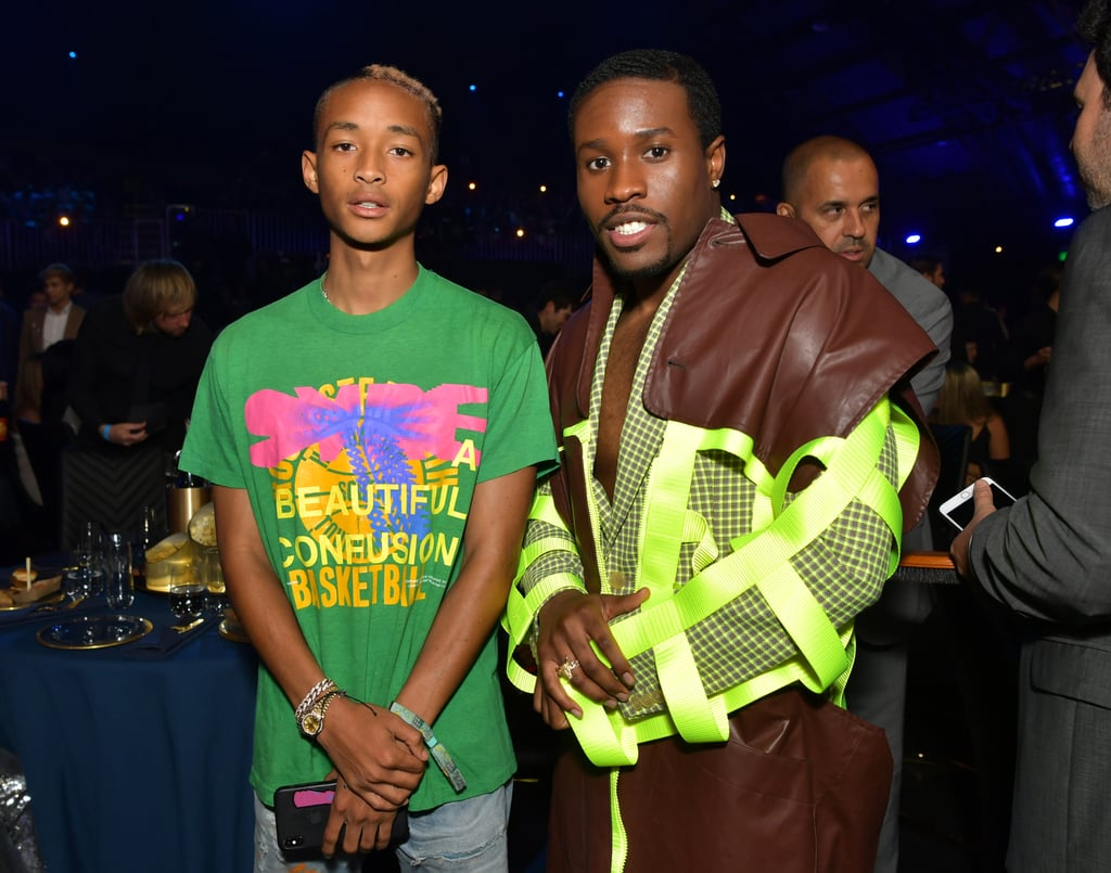 Jaden Smith and Shameik Moore at the 2019 MTV Movie and TV Awards