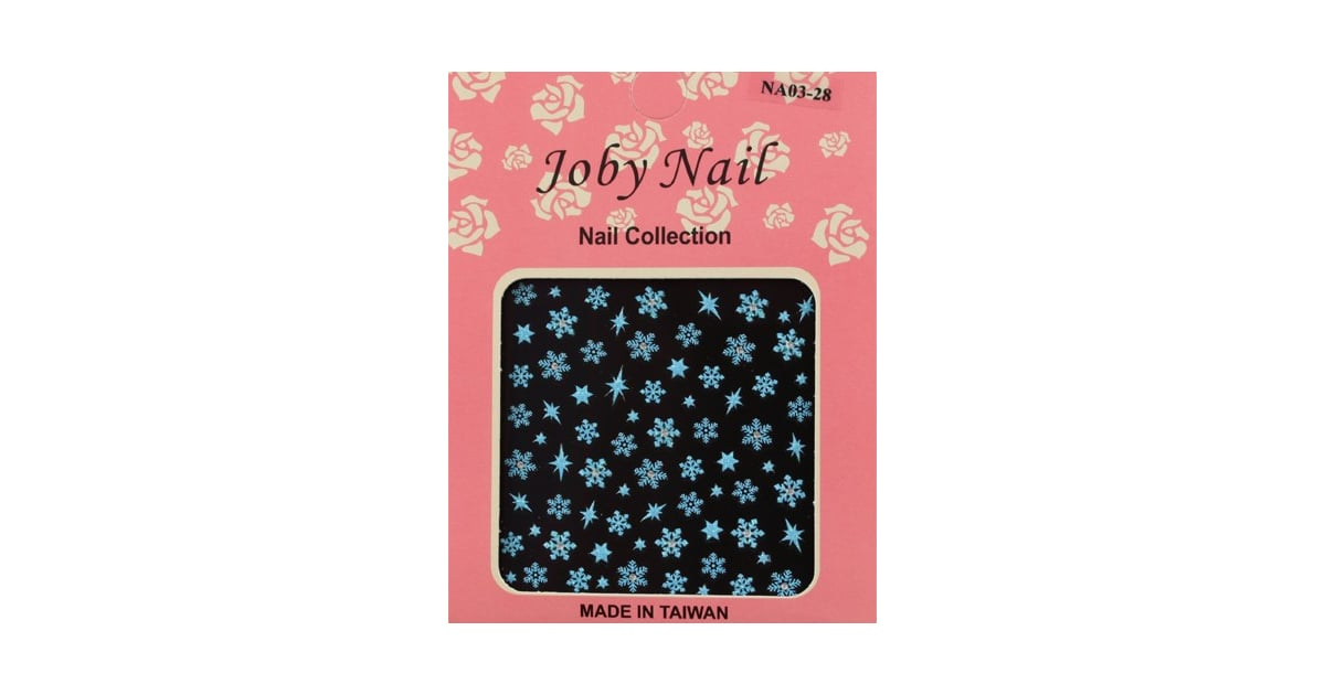 Joby Nail Art In Blue Snowflakes ($3) | Nail Decals | POPSUGAR ...