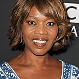 Alfre Woodard was all smiles on the BAFTA LA TV Tea red carpet.