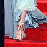 Kate's Metallic Jimmy Choos