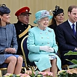 Prince William and Kate Middleton often attend official events with the queen.