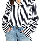 Treasure & Bond Stripe Boyfriend Shirt