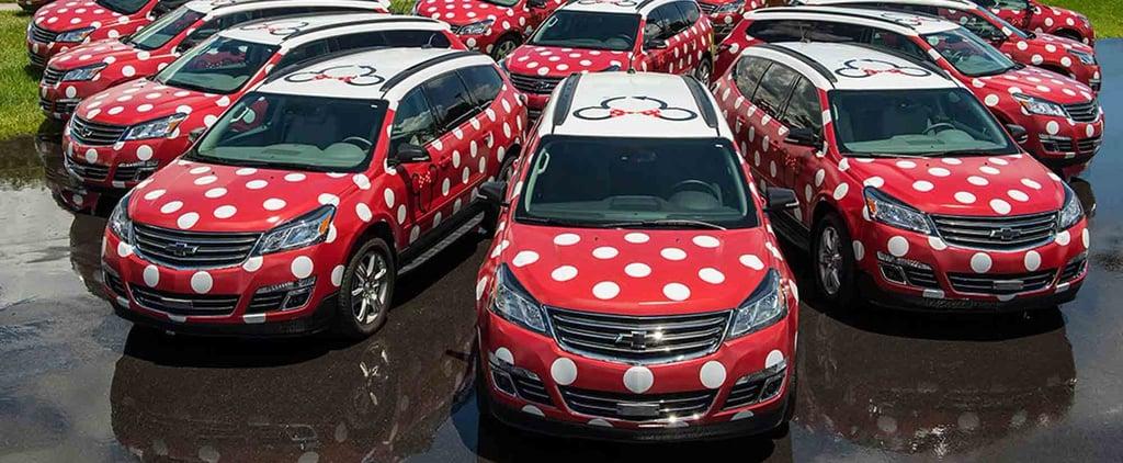 Disney World Minnie Vans Orlando Airport
