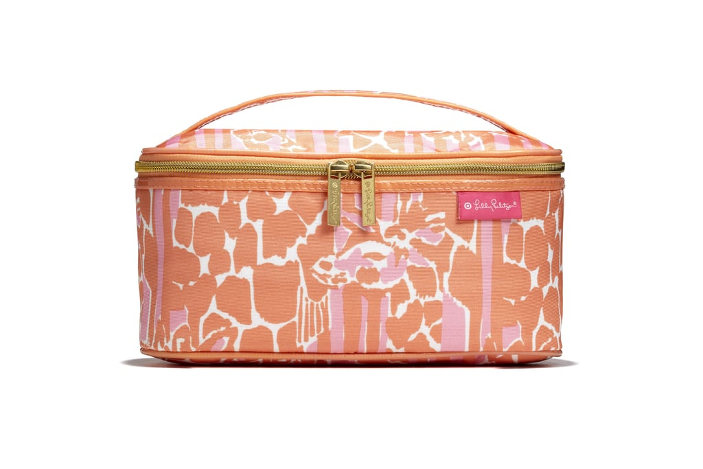 Double Zip Train Case in Giraffeeey ($24)