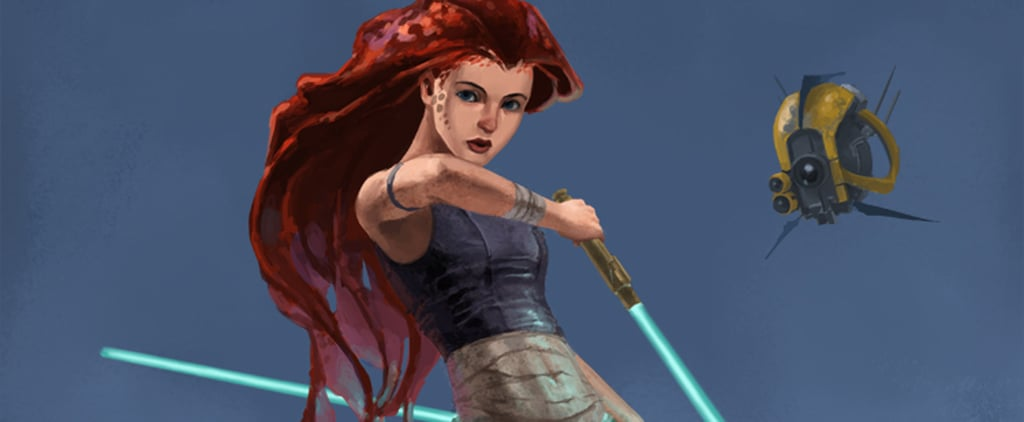 Disney Princesses as Star Wars Jedis