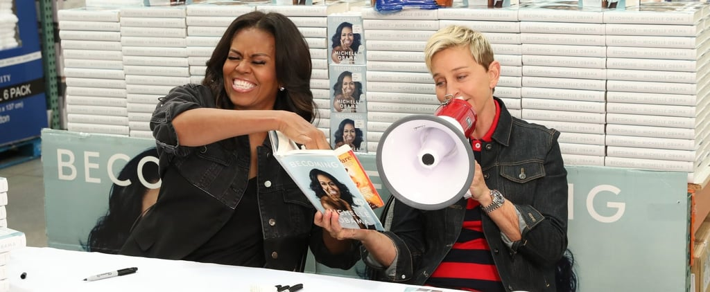Michelle Obama and Ellen DeGeneres Go to Costco Video