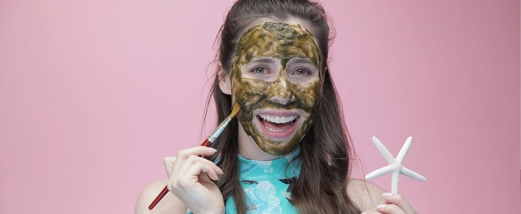 DIY Detoxifying Mermaid Face Mask For Glowing Skin