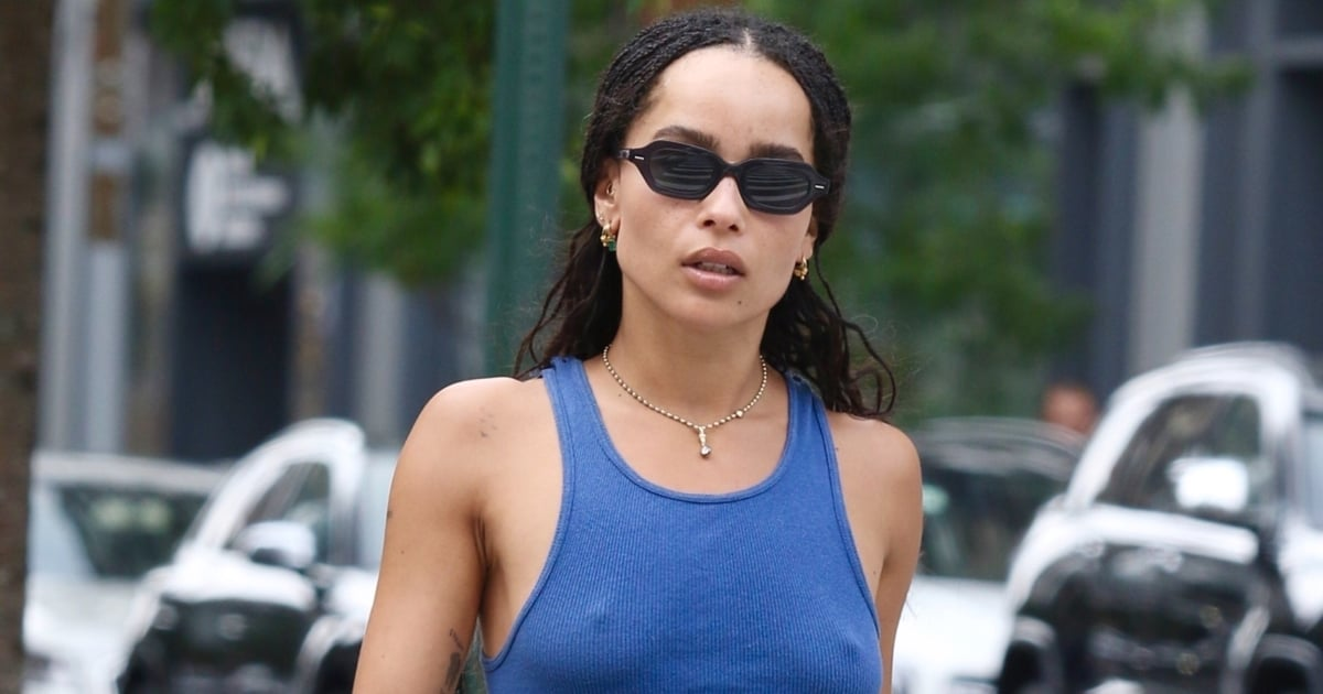 Zoë Kravitz Channels the '90s With Pristine Attention to Detail — and a Telfar Bag