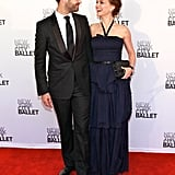 Natalie Portman and Benjamin Millepied enjoyed each other's company at New York City Ballet's 2012 Spring Gala.