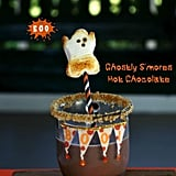 Ghostly S'mores Hot Chocolate