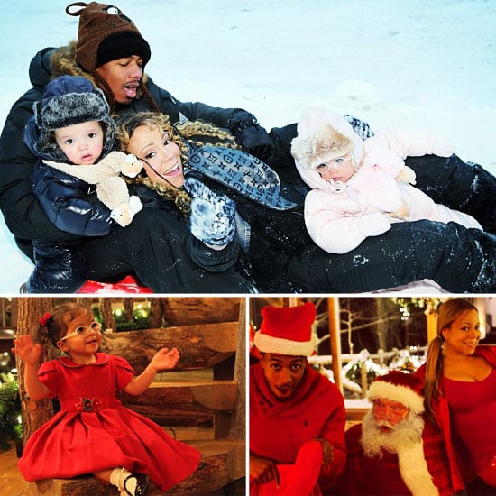 Mariah and Nick Share Snaps of Their Family Christmas