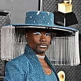 Billy Porter's Teal-and-Silver Celebration at the 2020 Grammys