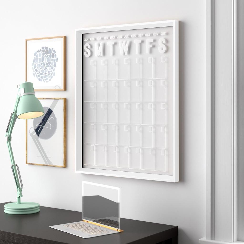 Wall Mounted Calendar Board