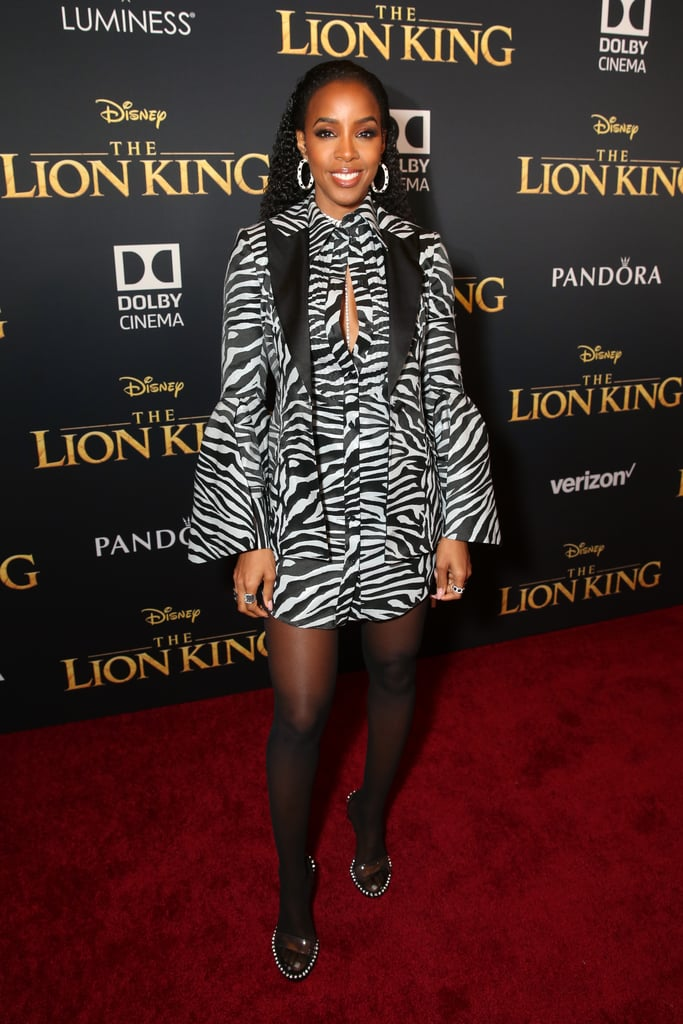 Kelly Rowland at the Lion King Premiere