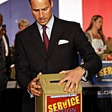Prince William at ServiceNation event in LA.