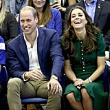 Prince William and Kate Middleton Laughing on Tour 2016