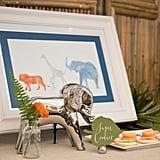 Watercolor Safari Baby Shower
