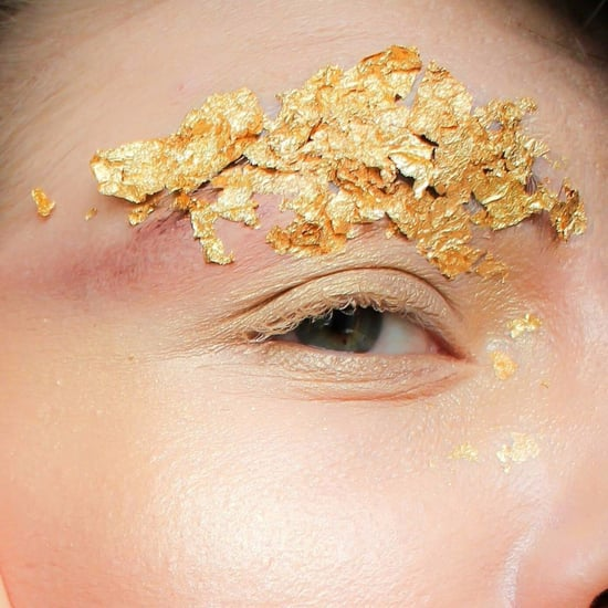 Golden Eyebrows Trend